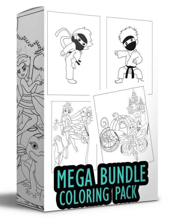 Mega Bundle Coloring Pack - PlrHero.com