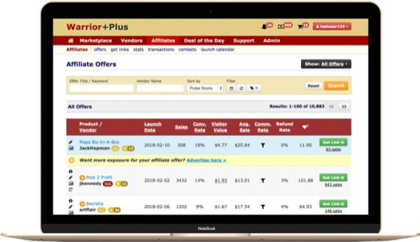 Selling PLR Products On WarriorPlus