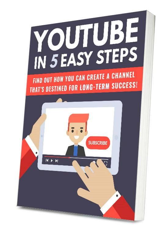 YouTube In 5 Easy Steps - PlrHero.com