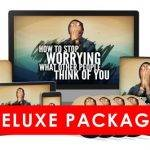 How To Stop Worrying About What Other People Think Of You Deluxe Package