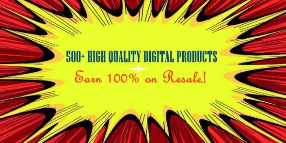 500+ High Quality Digital Products - PlrHero.com