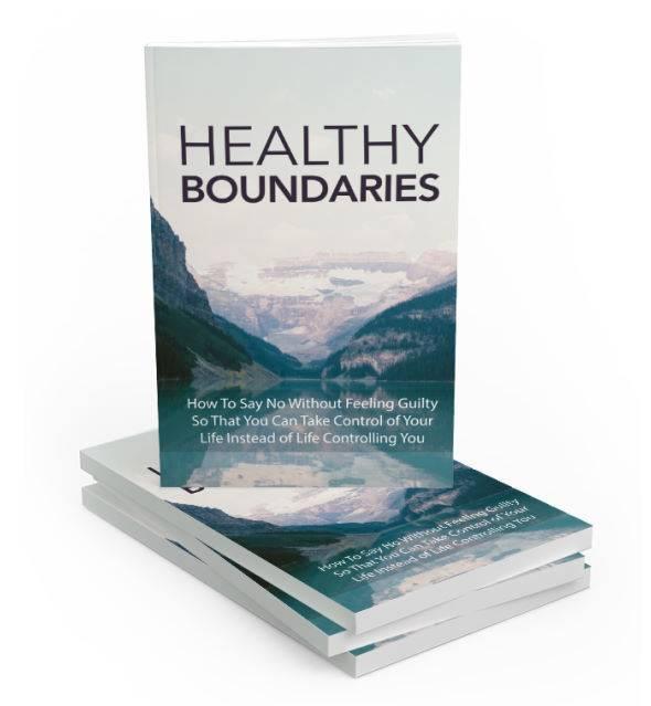 Healthy Boundaries PLR